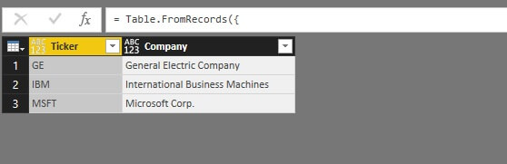 how to download stock price data into power bi